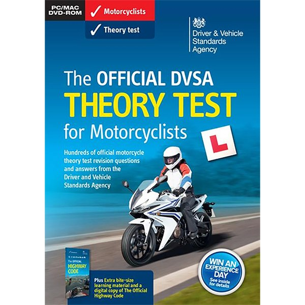 Official DVSA Theory Test for Motorcyclists DVD