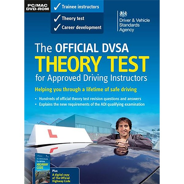 Official DVSA Theory Test for Approved Driving Instructors DVD