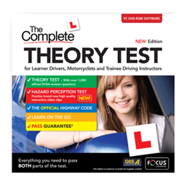 Complete Theory Test for Learner Drivers, Motorcyclists and Trainee Instructors