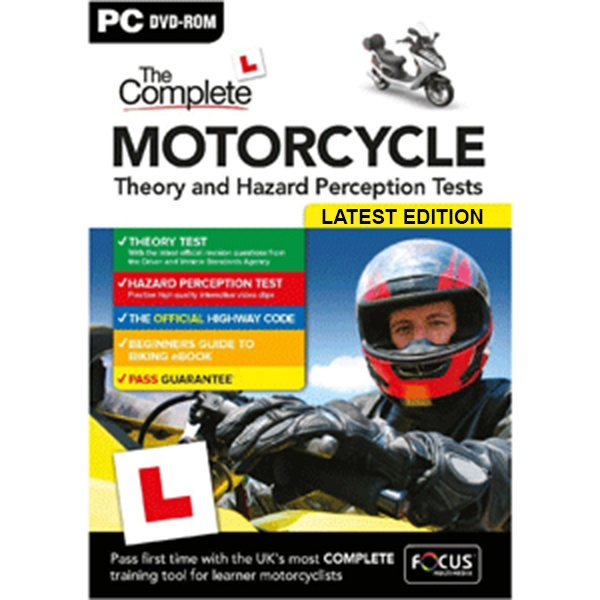 Complete Motorcycle Theory and Hazard Perception Tests