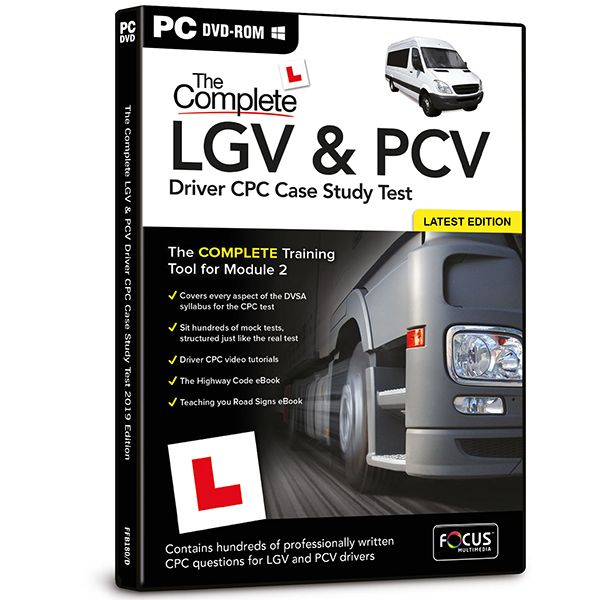 Complete LGV and PCV Driver CPC Case Study Test
