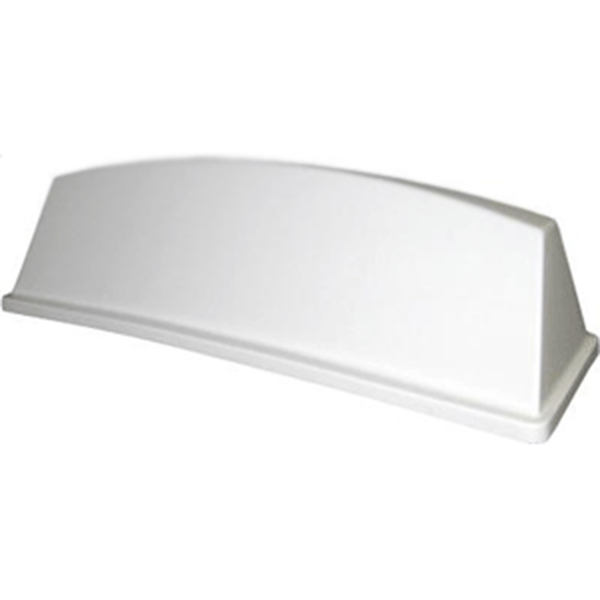 White Curver Roof Sign - Blank