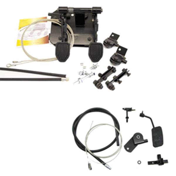 FAST LHD Clutch, Brake and Accelerator Kit