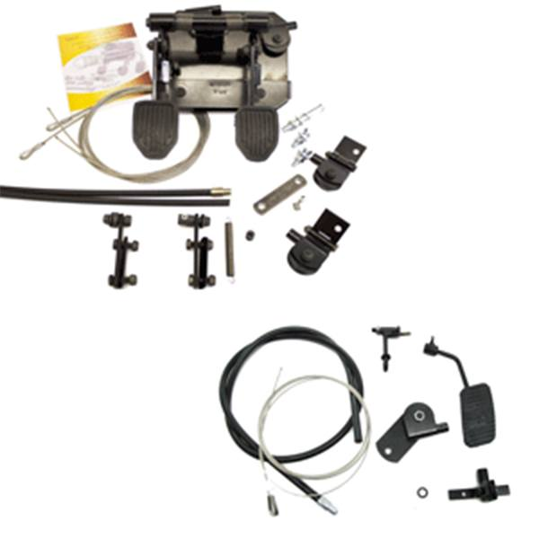 FAST Static Pedal LHD Clutch, Brake and Accelerator Kit