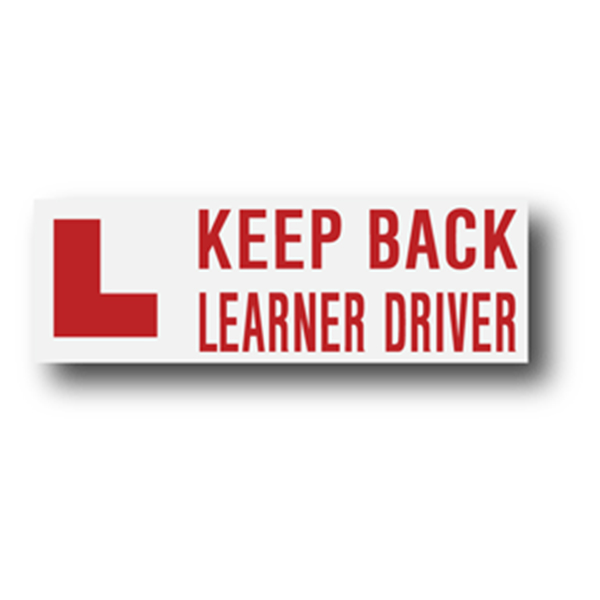 Keep Back Learner Driver 300mm