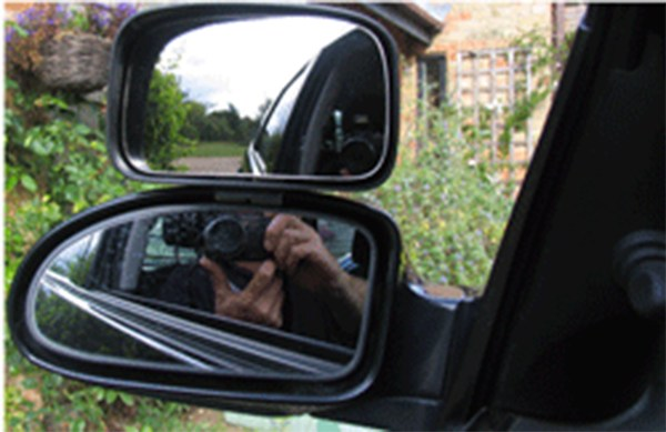 Large Instructor Blind Spot Mirror