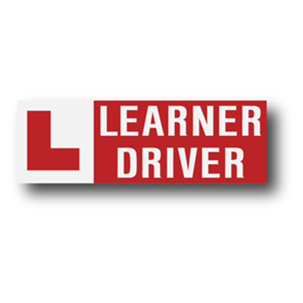 Learner Driver 300 mm Decal