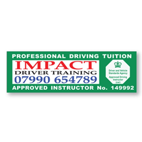 Professional Driver Training Panel