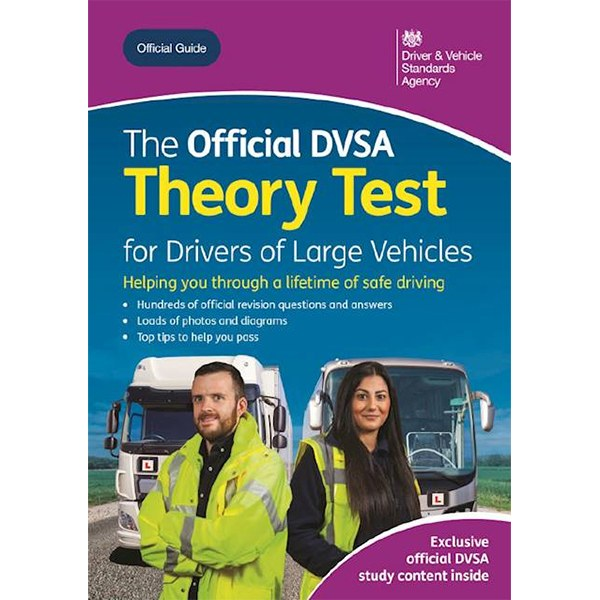 Official DVSA Theory Test For Large Vehicles Book